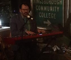 Sean Spada at keyboard