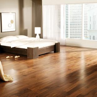 Preverco Walnut hardwood flooring