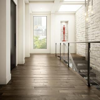 Preverco Ash Graphite Chamonix hardwood flooring