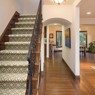 Shaw Chance staircase flooring