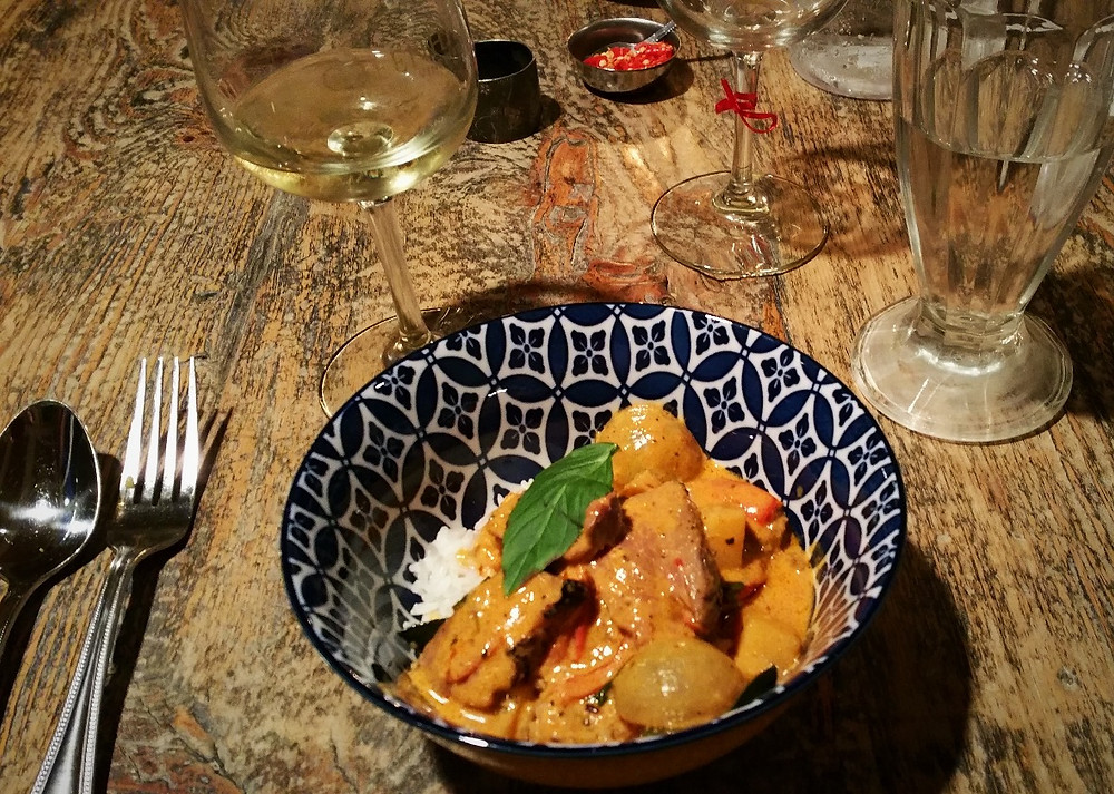 Red Curry Duck with Holy Basil