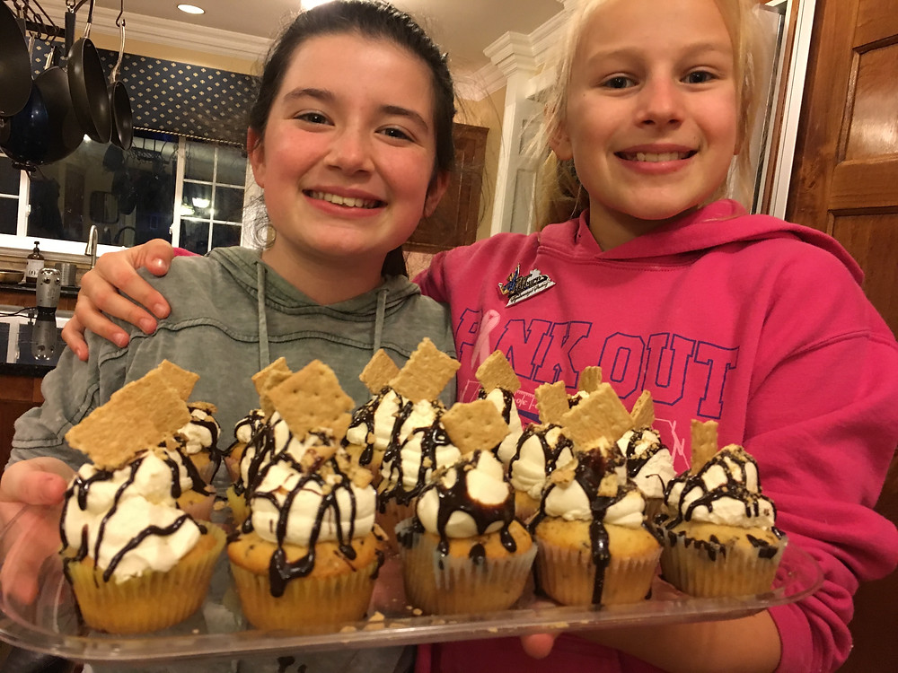 S'more cupcakes!