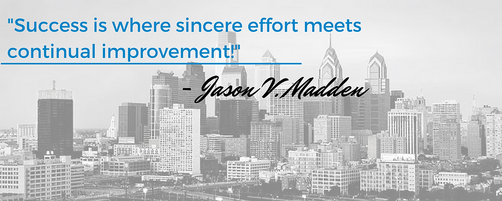 Jason V Madden success quote