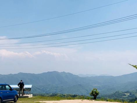 宇根山を山歩き