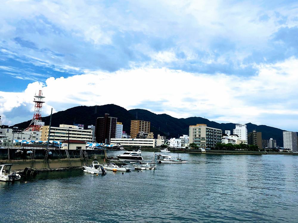 三原の風景『三原港』