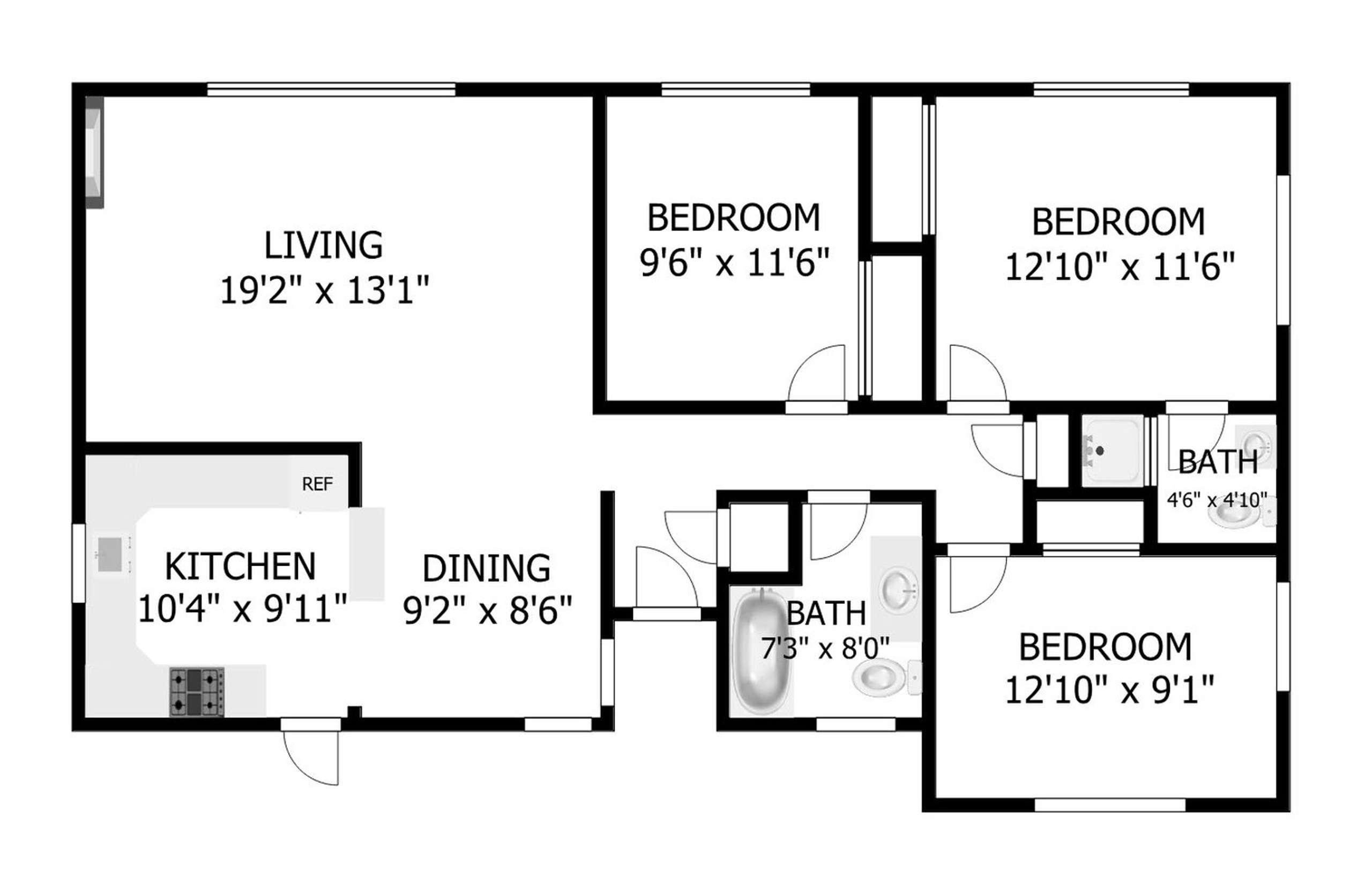 2D Floor plan1541105400