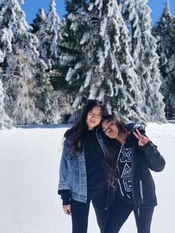 Sophia and Ant @ winter retreat 2018