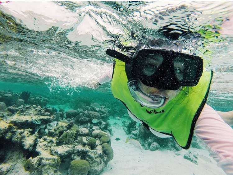 Michelline @ Belize Island
