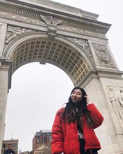 Sophia in New York