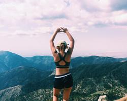 Louise @ Mount Baldy Summit