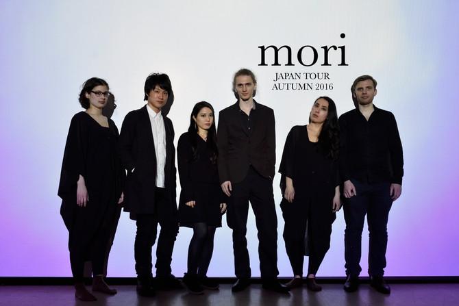 "Performance art ""mori"" Japan tour 2016"