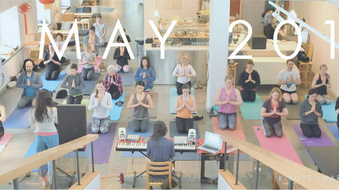 May 8th Sunday: Yoga at Museum