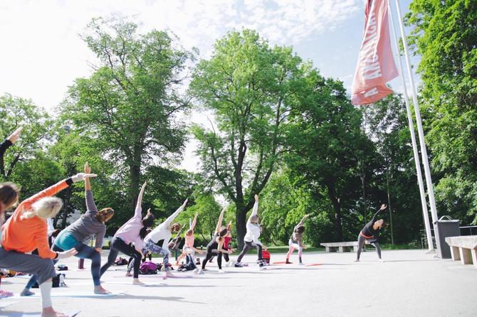 June 21st - Heal yourself, heal the world / International Yoga Day