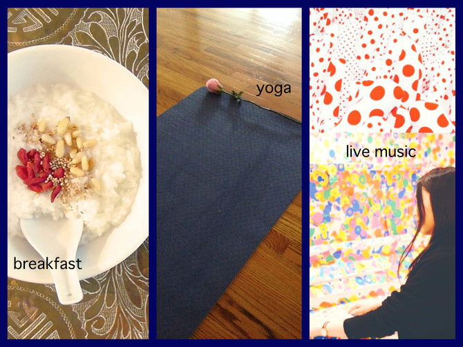 Breakfast & Yoga with Live Music at Museum