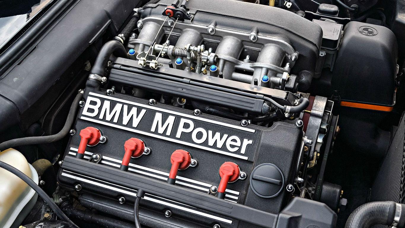 BMW-E30-S14-Engine