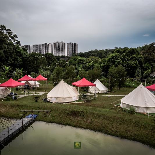 Kampung Glamping @ ORTO Yishun