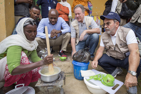 In Ethiopia, UN agency chiefs say more investment is needed to bolster drought-prone areas