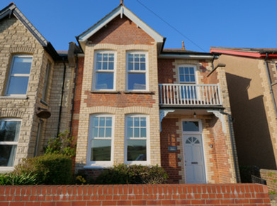 The front of Arden House, the doorway to your ultimate holiday in Bude