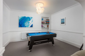 Kids and adults will love the pool table