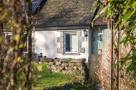 Cottage 2's gateway and front door, where your Cornish holiday begins.