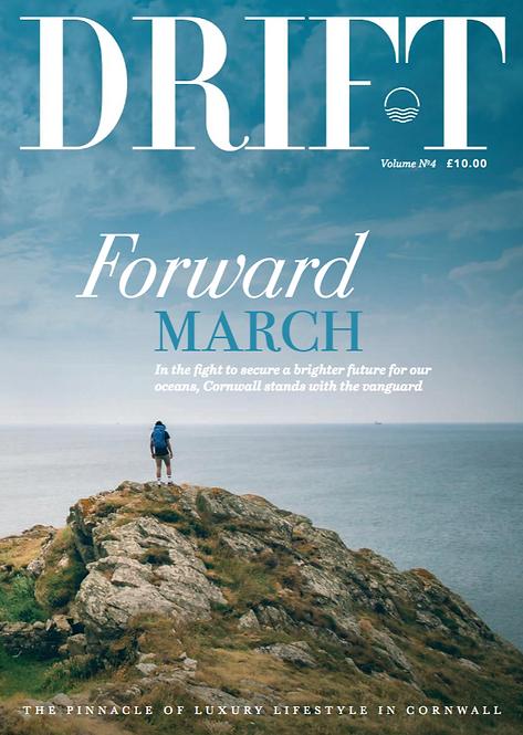 Drift magazine 12-month subscription