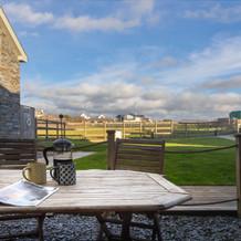 Enjoy an al-fesco cuppa under a Cornish summer sky