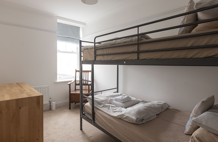 Kids will love the bunk beds!