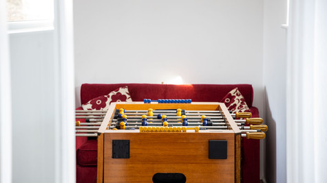 Anyone for a game of table football?