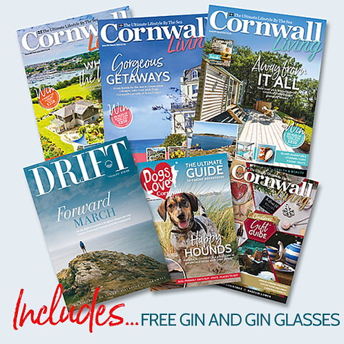 100th Issue Special Offer Subscription with FREE Gin