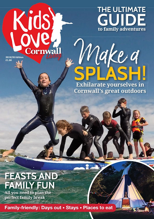 Kids Love Cornwall Living: single issue