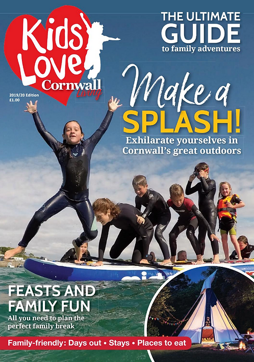 Kids Love Cornwall Living Guide
