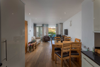 Modern, open-plan living makes for an ideal family space