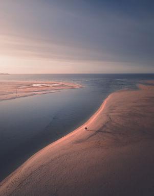 hayle beach sunset walk.jpg