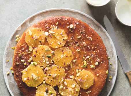 Dessert: Orange and Cardamom Cake by The Hidden Hut