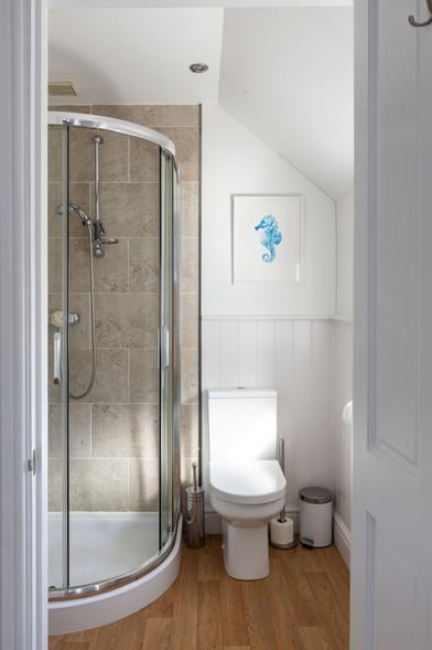 You'll even find original artwork in the bathroom!