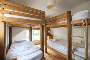 Stylish bunks, perfect for the kids