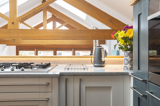 The modern kitchen has everything you're likely to need