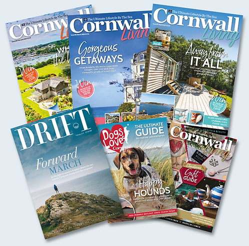 Cornwall Living: 12-month subscription (FREE DRIFT)