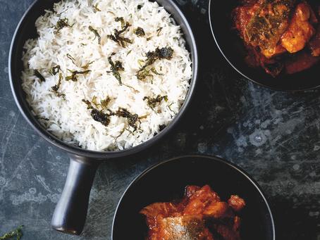 Main: Marinated Fish and Kombu Curry