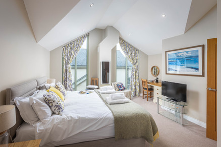 Get a great night's rest in this peaceful bedroom