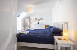 Light-filled and cosy double bedroom