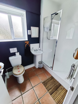 Cottage 4 bathroom with shower.