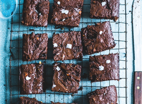 Dessert: Salted Caramel Brownie