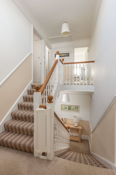 A Victorian mansion with ample space across three floors