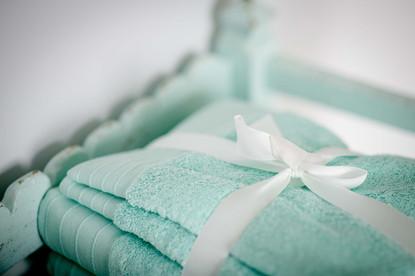 Luxury linens await