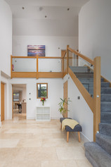 Stairs leading to the open-plan landing