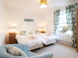 Rest your head in style in this twin bedroom