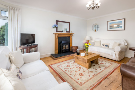 Unwind together in the spacious living room