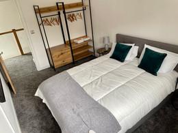 Lowenna's king size bedroom