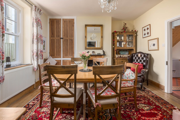 Enjoy your meal in style in the separate dining room